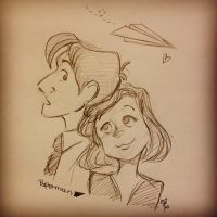 Paperman by asami-h