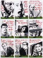 Night of the Living Dead sketch cards 4 by tdastick