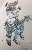 Mark is Rocking His Bass by WolfGang-Jake