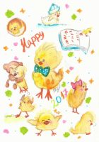 Happy 2017! ~The Year of the Chicken~ by Juricha