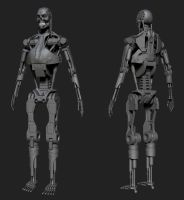 t-800 wip5 by Rimka