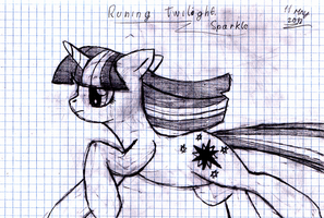 Twilight Sparkle Drawing by AB-Anarchy
