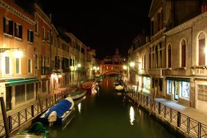 Venice by night by I-Andrew