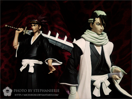 Bleach Byakuya and Renji by Michiru83
