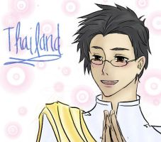 APH: Thailand by DemonBunny