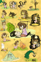 Don't Starve, more like don't die!! by Ichi-CooCoo
