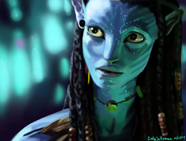 Neytiri - Avatar by KasumiTan