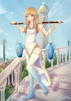 Water Bearer by RizaLa