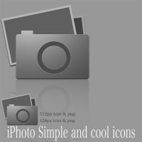 iPhoto Simple and cool icons by luci360yuki