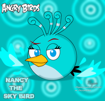 Angry Birds: Nancy the Sky Bird by MeganLovesAngryBirds