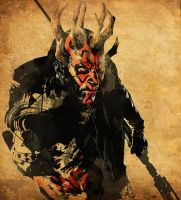 Darth Maul 2 by nicollearl