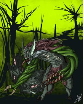 In Actus II: Lyra Beast by M60-Carnifex