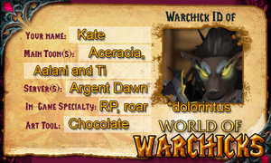 Warchick ID :D by dolorintus