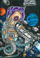 space squid by MapsFunkrew