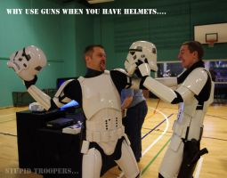 Stupid Troopers by RBSpictures