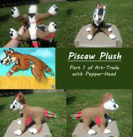 Piscaw plush by Feather-Dragon