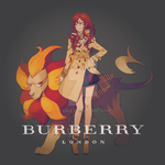 Pyroar x BURBERRY by Yeale