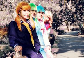 Yu Yu Hakusho ladies by paganprincess-aeris