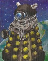 Dalek by burning-thirteen