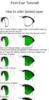 How to color anime eyes by MitsukiRina