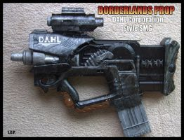 BORDERLANDS Dahl SMG by Sathiest-Emperor