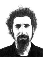 System of a Down: Serj by Chahi