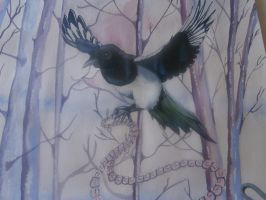 That Naughty Magpie by IsabellaTwibell