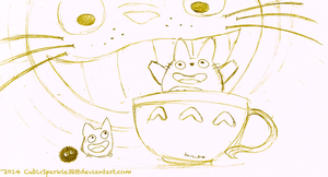 A Cup of Totoro? by CubizSparkle
