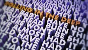 Rolling in the Deep 3DLyrics by Neo101