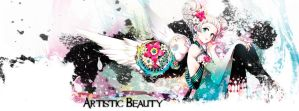 Artistic Beauty Facebook Cover version 2 by Convicted-Vixen