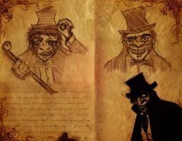 Mr. Hyde concept art by F-warp