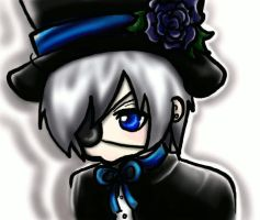 Ciel Phantomhive Animation by LALASOSU2