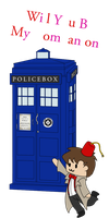 Dr. Who Valentine by GreyScale9