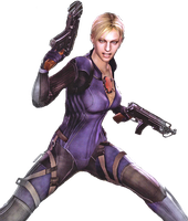 Jill in Battlesuit, Render 1 by MusashiChan69