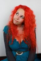 Merida portrait stock preview by charligal-stock
