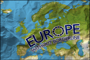 Europe without borderline by AY-Deezy