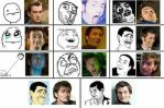 The Many Faces Of David Tennant by WhoviansUnite9
