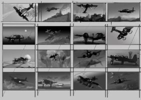 Vacuum Tube Night Fighter composition concepts by Hamsta180