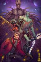 Guardians of the Galaxy by pop-lee