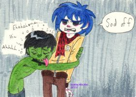 It's Too Late For That Now, Murdoc by Strabius