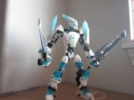 Bionicle M.O.C. #1  Glasieren by BioMasterLord65