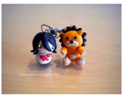 Rukia and Kon by Spirit-Phoenix