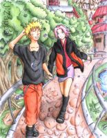 Love on a Windy Day- NaruSaku by J-Zappa