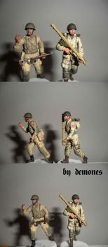 82nd AirBorne one and two by demones