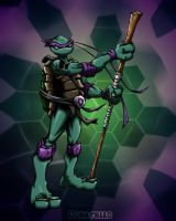 donatello colored by pnutink