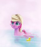Pinkie Pie Bath Time by adailey