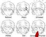 Manga basic expressions by tigars53