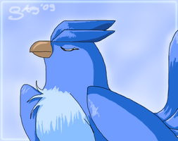 Articuno by AmyPigeon