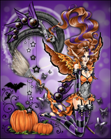 Halloween Charms by draconiangem