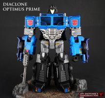 Diaclone Optimus Prime custom figure by Jin-Saotome
